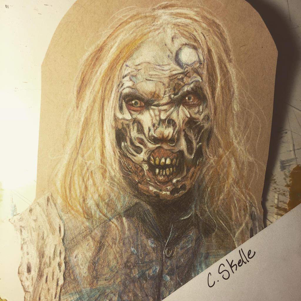 Zombie from TWD by Mizzzen