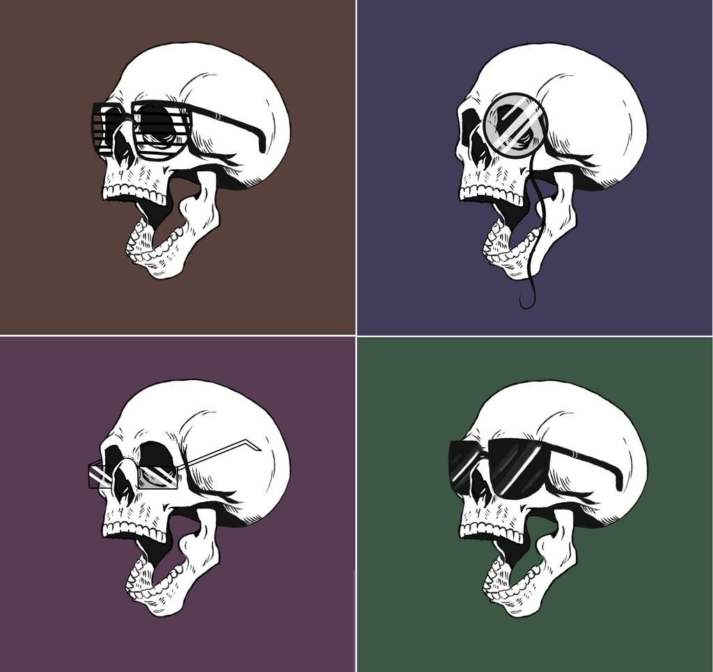 Skull design thingy by Mizzzen