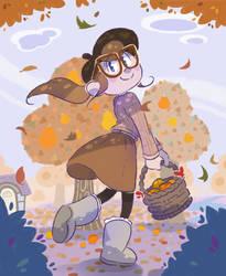 Autumn Walk by mi-spark