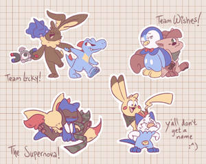 my pmd teams!!