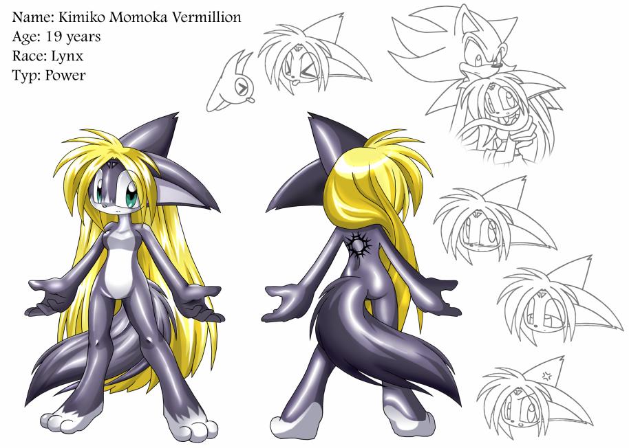 Kimiko Character Sheet by Kimiko-Lynx