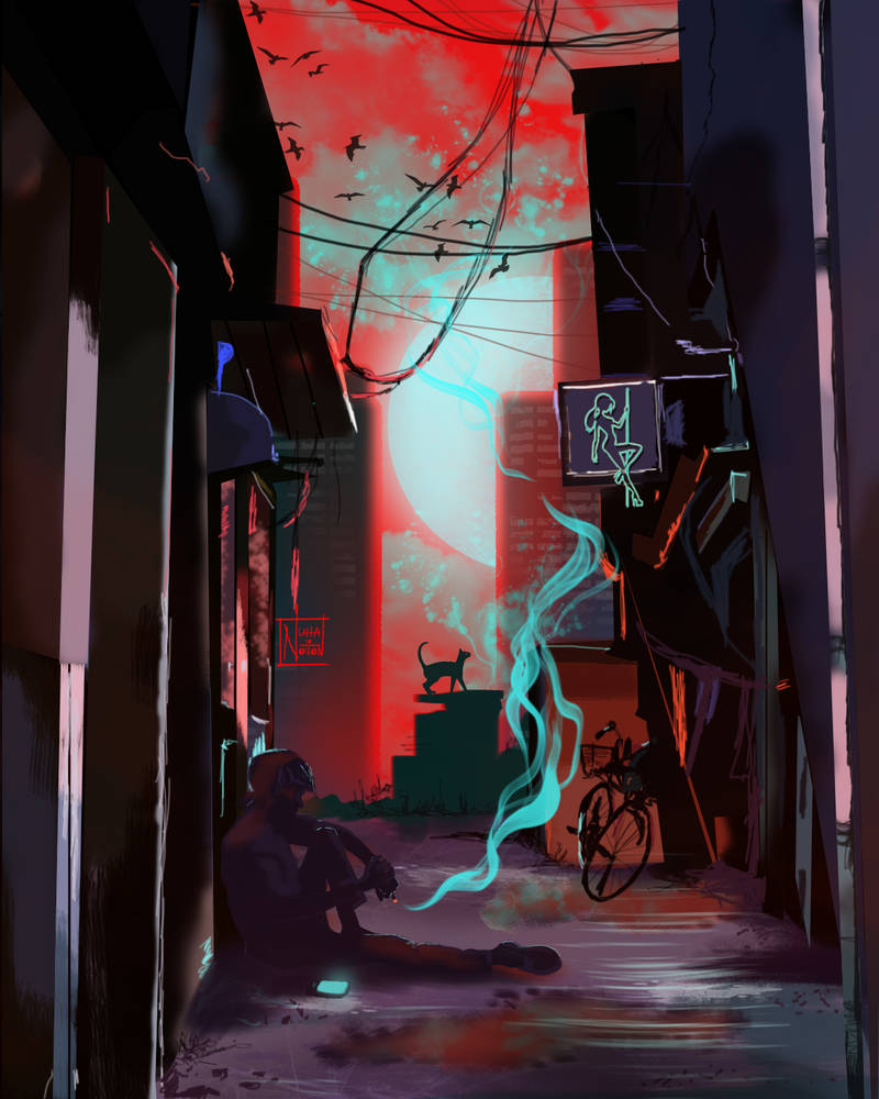 Alley Of Anxiety