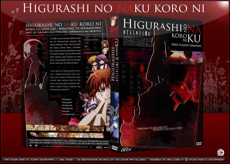 Dvd Cover Higurashi No Naku By N1z1ra On Deviantart