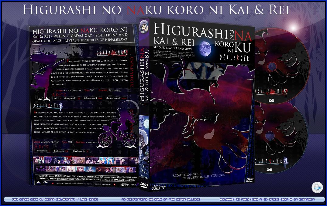 Dvd Cover Hnnaku Kai And Rei By N1z1ra On Deviantart