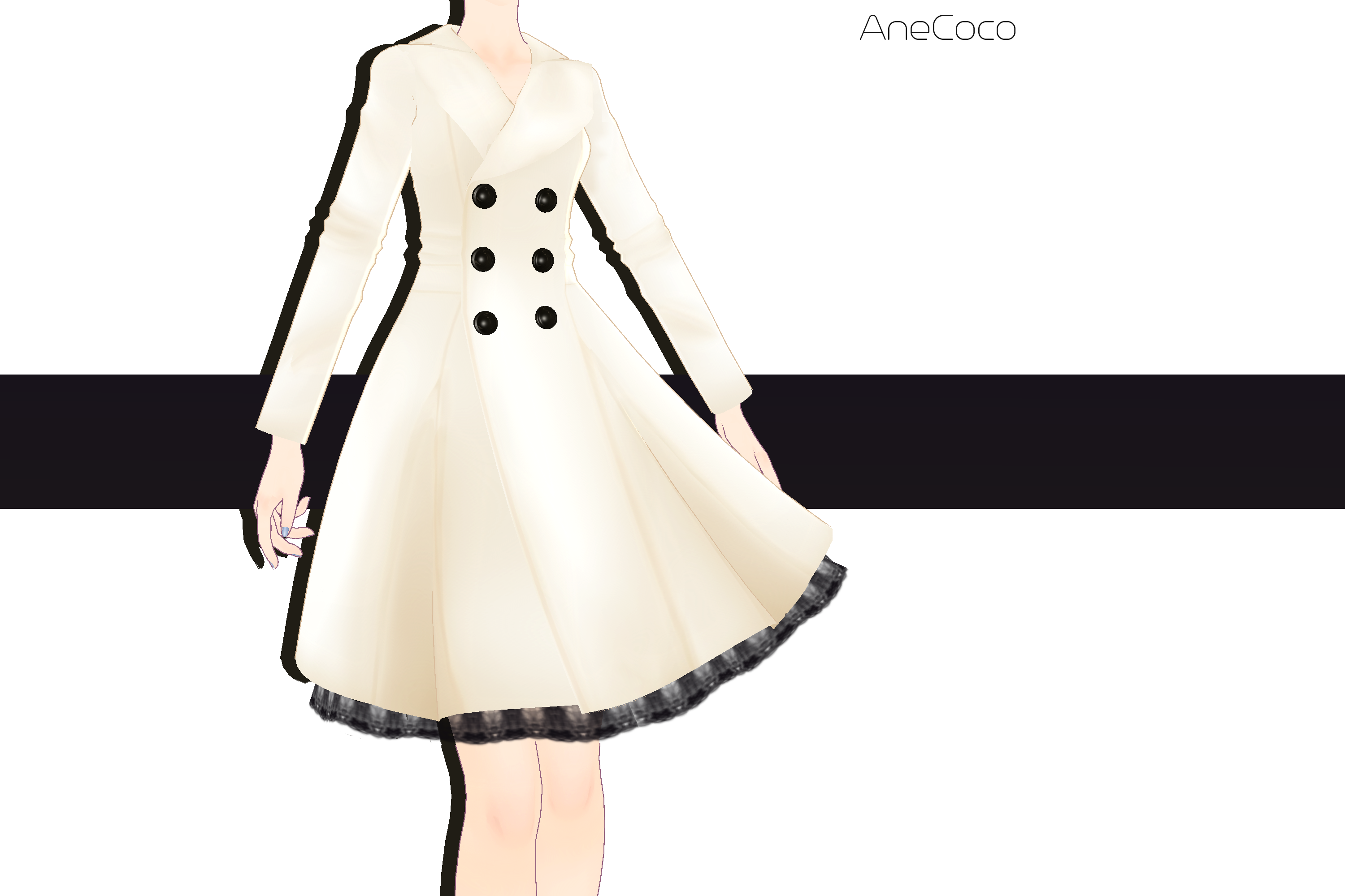 .:: MMD COMMISSION - Coat ::. by AneCoco