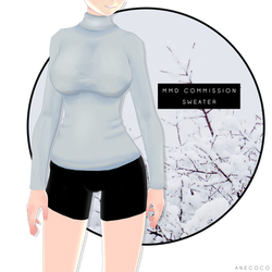 MMD - Sweater [COMMISSION]