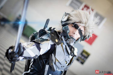 Raiden Cosplay Metal Gear Rising by G-cosplayer