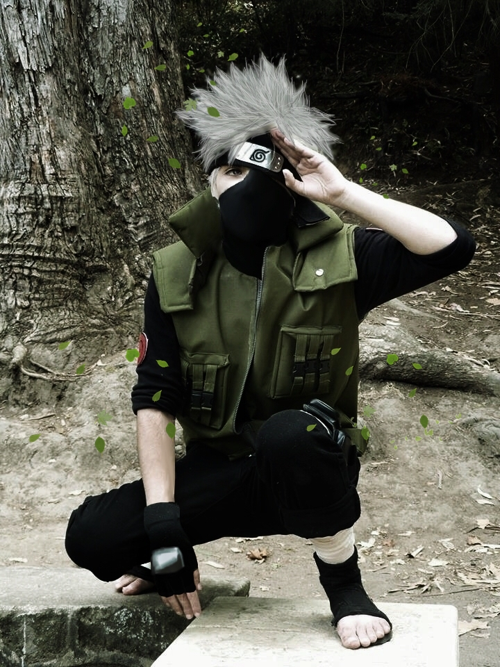 Resultado de imagen para kakashi cosplay