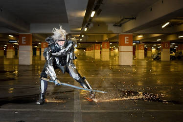 Raiden Cosplay -Metal Gear - by G-cosplayer