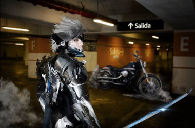 RAIDEN METALGEAR cosplay by G-cosplayer