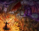 Xardas vs. Pyrokar