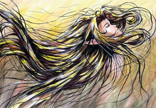 She Is Like The Wind By Sweeping Jak