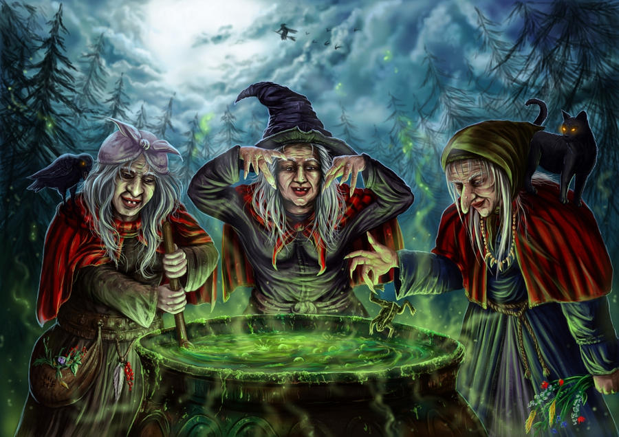 Witches brew by Ka7 on deviantART