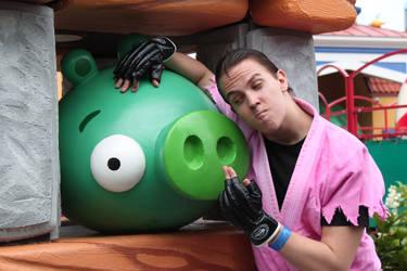 Dan Hibiki and Bad Piggie by Festivaali