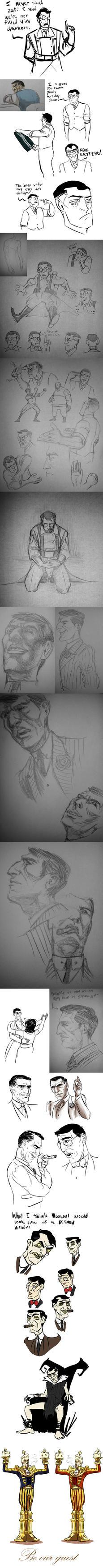 sketchdump 31 by InfamouslyDorky