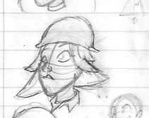 Anne sketch by Cobean