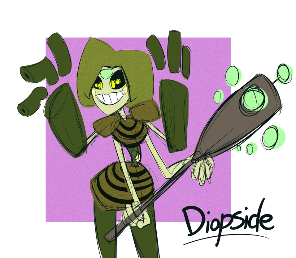 New Diopside by Cobean