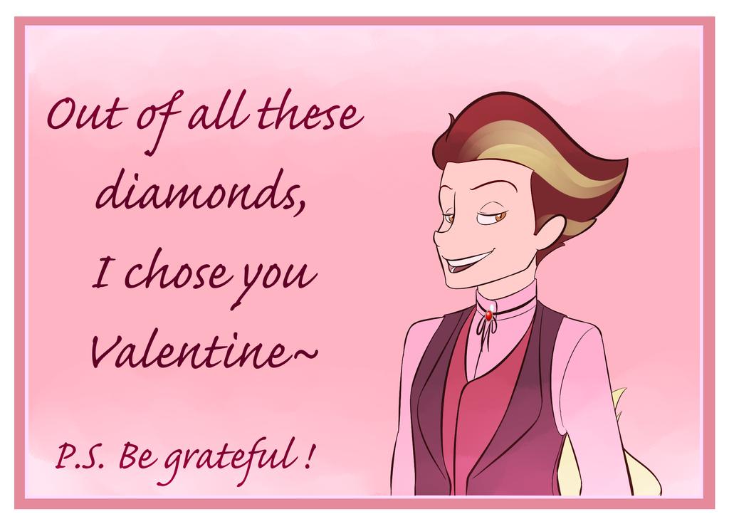 Calvin's Valentine Card by Cobean