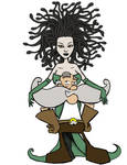 Steampunk Gorgon Fan Art by tnaived