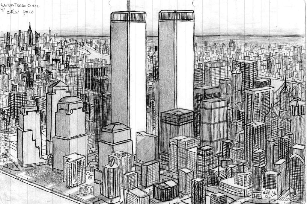 Skyline Newyork By Miikedv On Deviantart