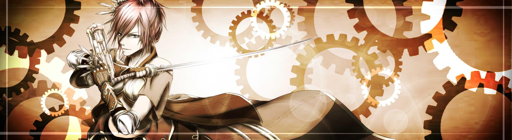 FFXIII- Steampunk by LyricaDreams