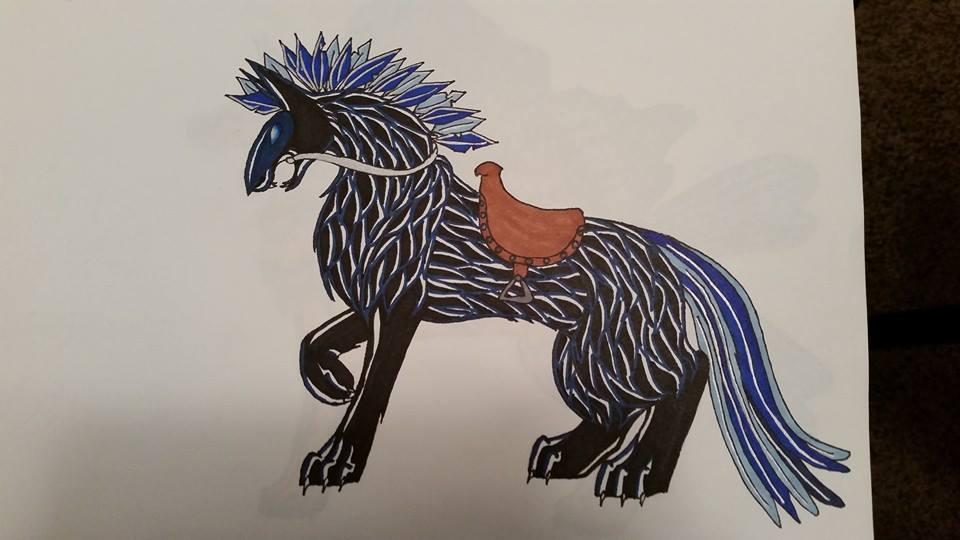 Nightingale by HowlingMoonDesigns