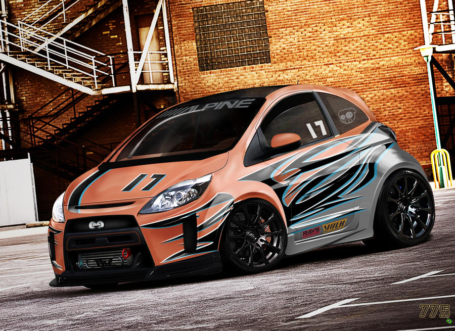 Ford Ka Racer Version by ecolle