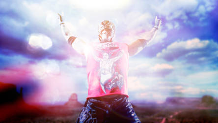 Rey Mysterio Lighting Manipulation by ecolle