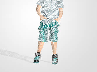 Myself Typography by ecolle