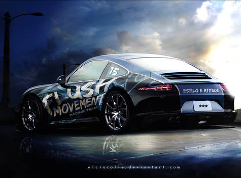 Porsche 911 Flushmovement Race Team