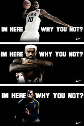NIKE Im here, Why you not? by ecolle