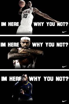 NIKE Im here, Why you not?