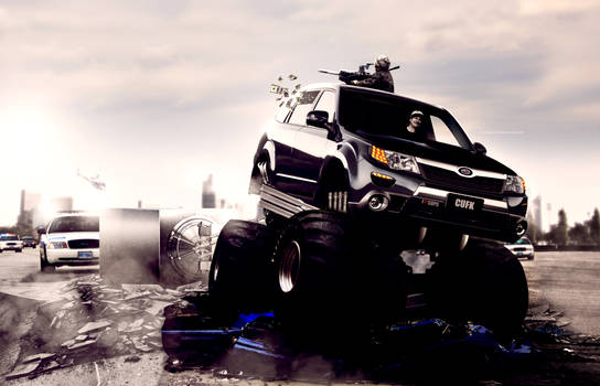 Subaru Forest - Love Cops
