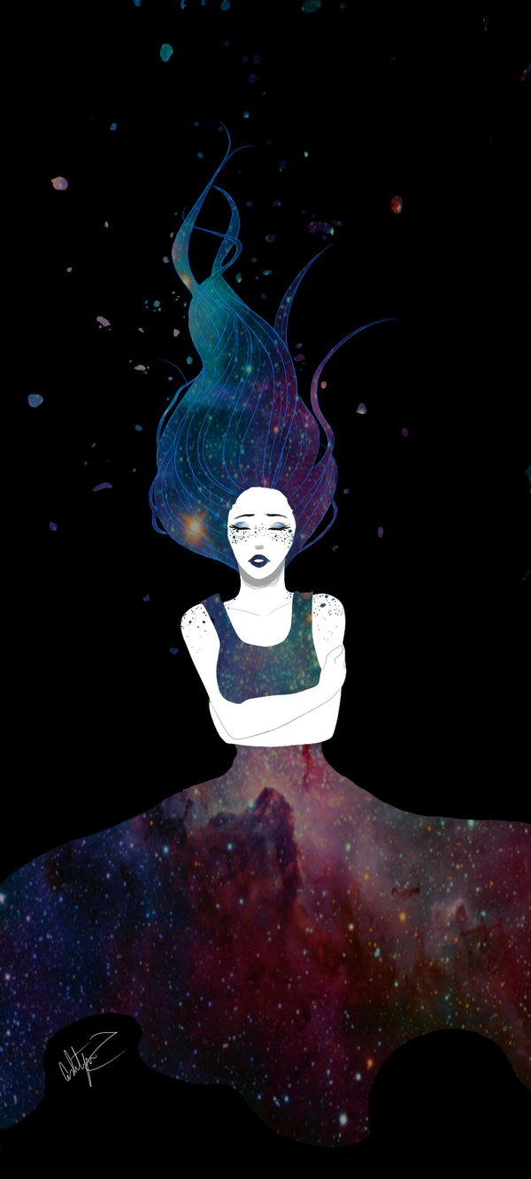 Galaxy Girl by NobodyBlues