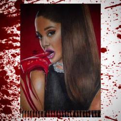 Scream queens ariana grande by skyesanimation