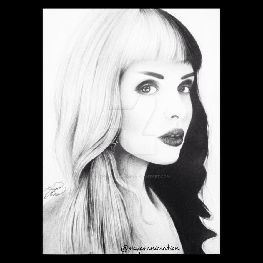 Melanie Martinez Drawing By Skyesanimation