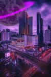 CyberPunk City by MarceauBosc