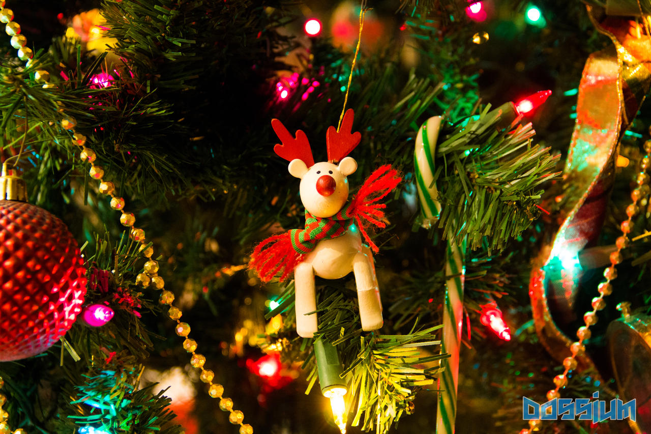 Christmas Ornament 2014 by Dossium