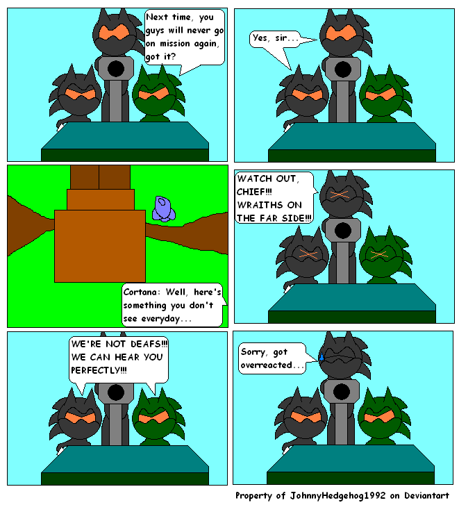 Sonic Halo 2-Part 1-Page 11 by JohnnyHedgehog1992 on DeviantArt