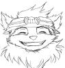 Teemo face 2 by JohnnyHedgehog1992