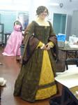 Tudor Dress Front View