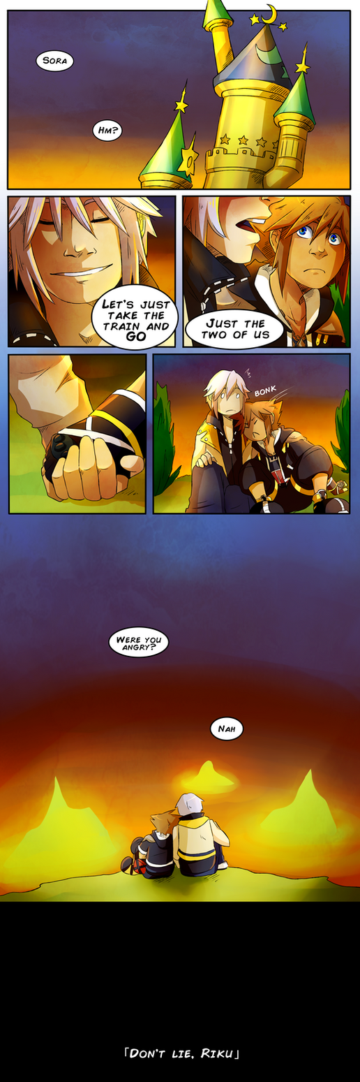 Don't lie, Riku by Violac