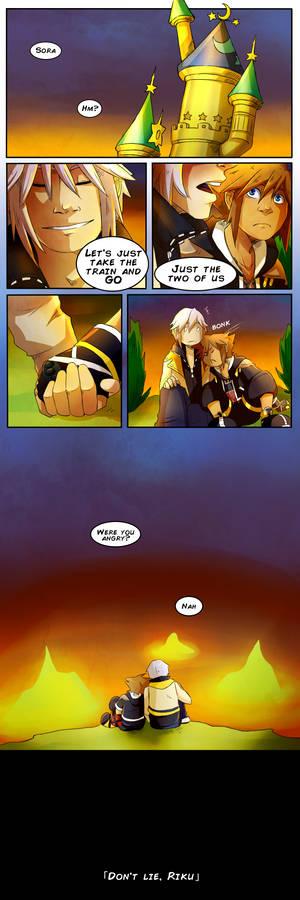 Don't lie, Riku