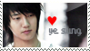 Yesung stamp by ashaplz