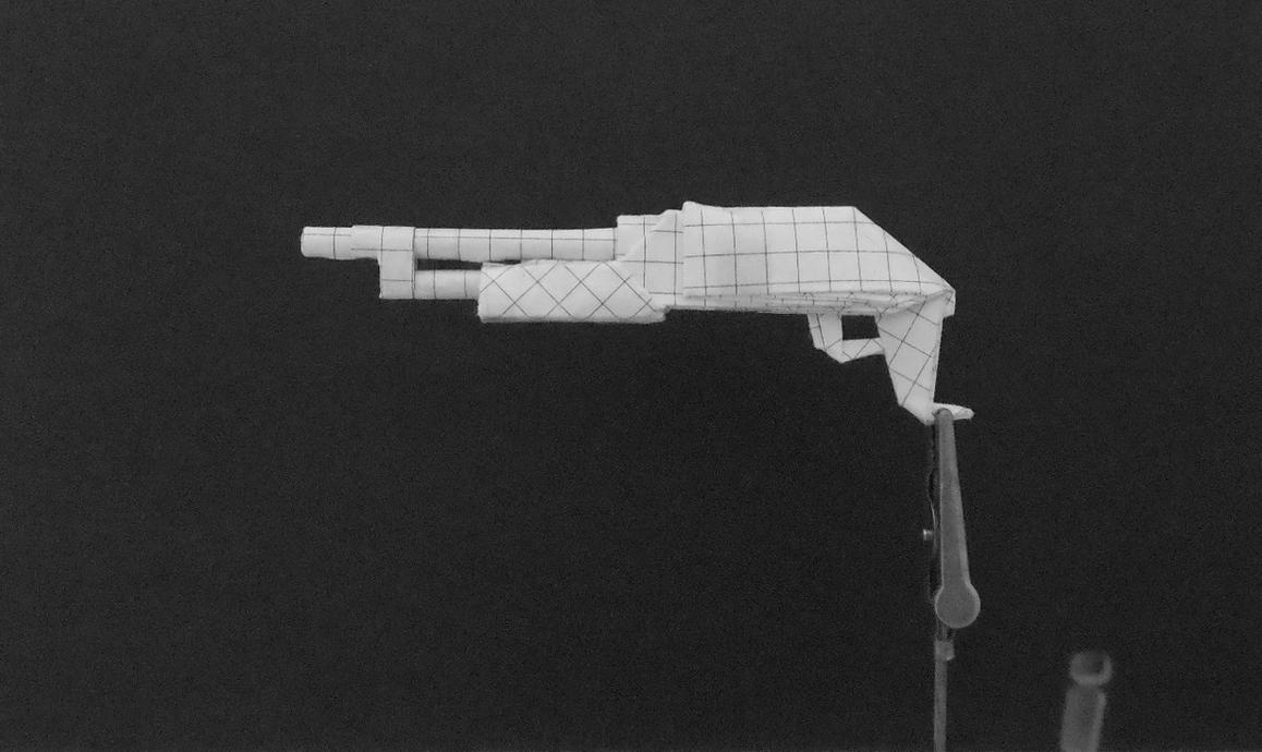 origami machine gun