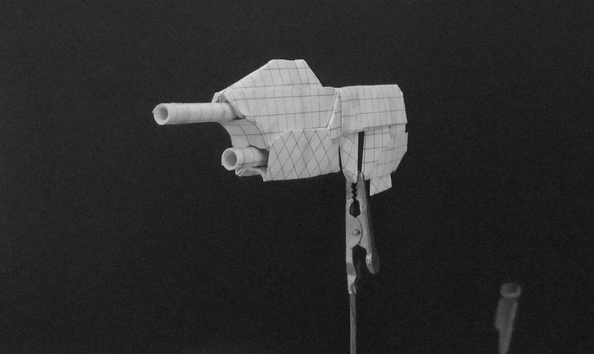 Origami Guns Assault Rifle By Solidmark On Deviantart