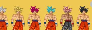 Goku Ultra Instinct FighterZ Pixel Art
