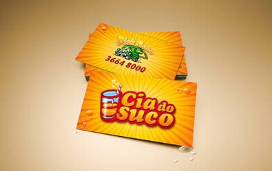 Cia do Suco Business Card