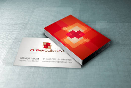 Mais Arquitetura Business Card