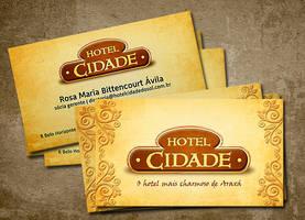 Hotel Cidade Business Card by tutom